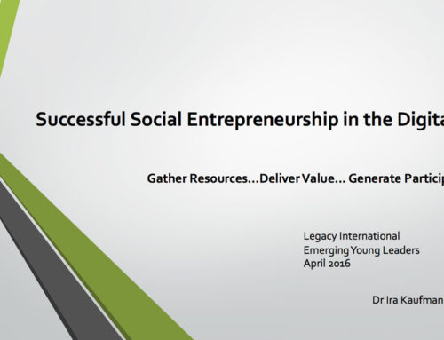 Successful Social Entrepreneurship in the Digital Age